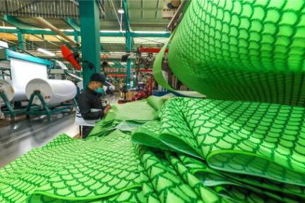 印染产业正焕发新生:生产线全开,全年产销两旺