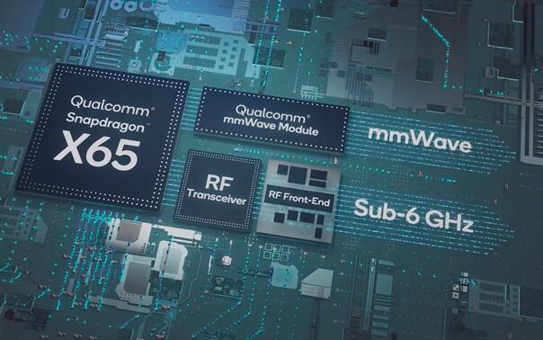 高通发布骁龙5G通信芯片接口设计 支持全球5G 6GHz 以下频段和毫米波频段