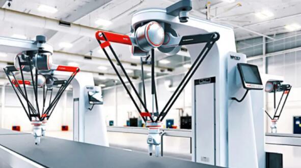 新型协作式三角机器人来了:可用于坐标测量机的装卸
