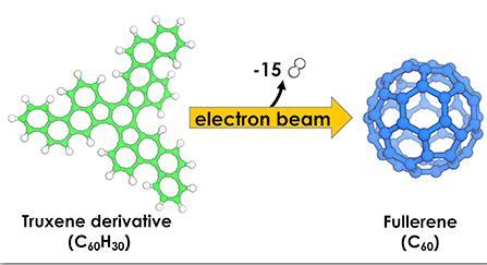 研究小组成功观察到富勒烯C 60的自下而上合成