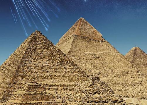 科学家利用宇宙射线对金字塔内部进行全方位扫描
