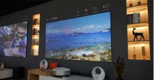 """长虹推出""""万元级""""激光电视,定位家庭轻享型升级产品"""