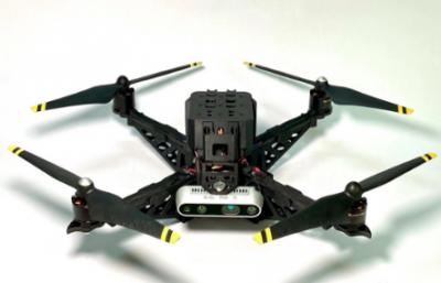 AI无人机是如何定位以及完成一系列高难度的动作