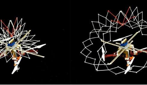 受河豚啟發的無人機,能夠通過擴展和收縮來快速改變形狀