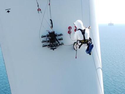 海上风机检修机器人又添新技能,利用超声波检测螺栓
