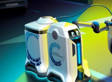 机器人公司无人地面车辆提供无线充电套件,实现空中充电
