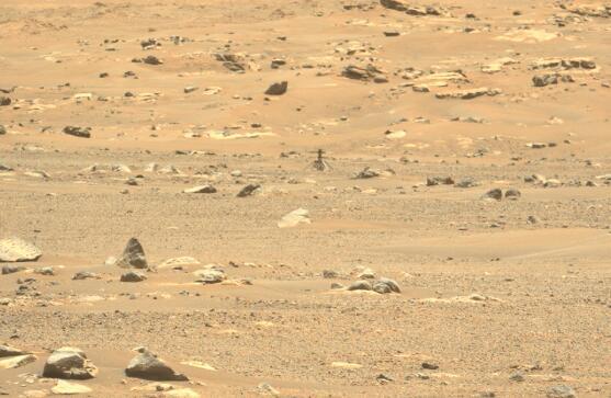 NASA火星无人机有惊无险的第六次飞行,出现短暂失控险报废
