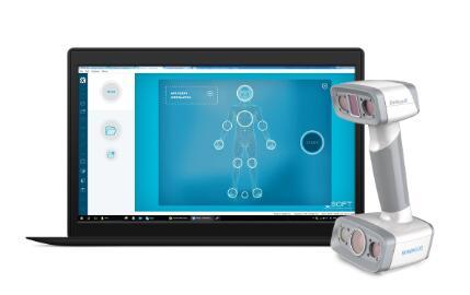 一体化人体3D扫描仪,旨在服务数字化的矫形和假肢市场