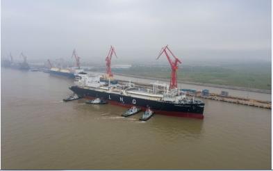 当5G、大数据结合人工智能产生的结晶——全球最大的 LNG船