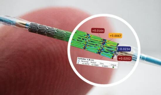 计量 CT 扫描仪在数字化小型塑料零件方面表现出色