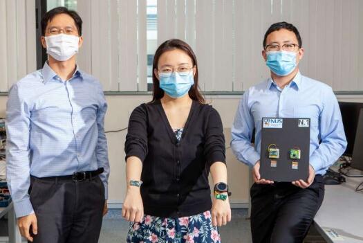 新加坡大学开发出一种为可穿戴设备无线供电的新方法