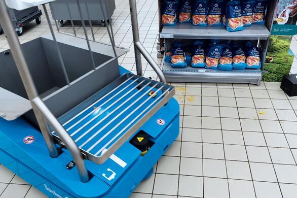 移动机器人将彻底改变超市的工作模式