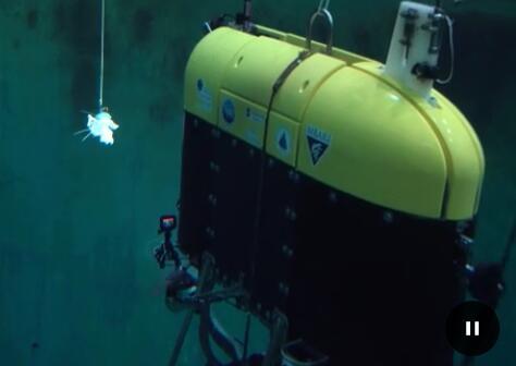 自主水下航行器Mesobot,可以监测海洋生物的迁徙