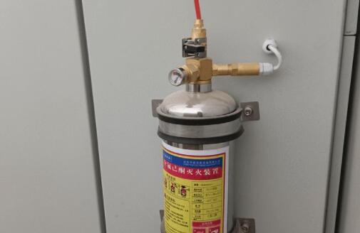 探火管探测系统升级自动探火灭火装置,对电气元件进行全天候保护
