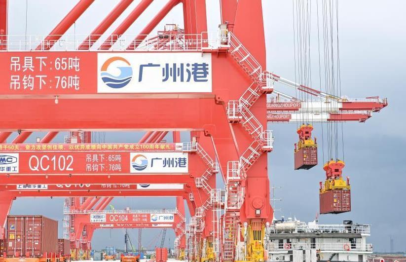 厲害了!粵港澳大灣區首個全自動化碼頭全流程實船作業取得成功