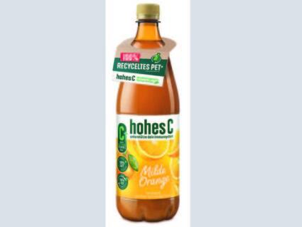 KHS 推出由 100% rPET 制成的果汁瓶子,每年可節省4,000 噸新塑料