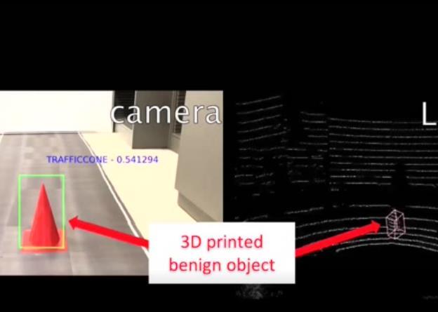 自動駕駛重大漏洞曝光:感知算法可能無法避開人造3D惡意障礙物