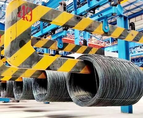 河鋼成功生產國內最大規格Φ28mm高速線材 實現Φ5mm到Φ28mm規格間自如切換