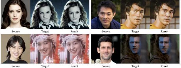 上海交大研發了一款換臉框架 SimSwap 可將任意人臉更換為任何目標人臉