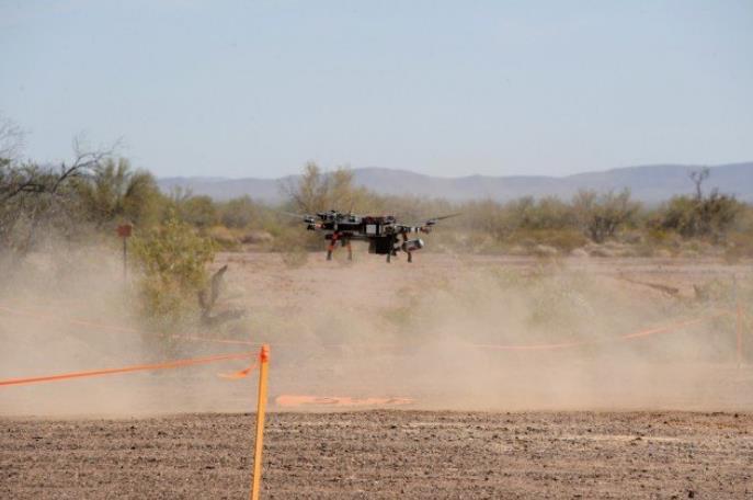 亞利桑那州尤馬試驗場完成首次反無人機技術演示