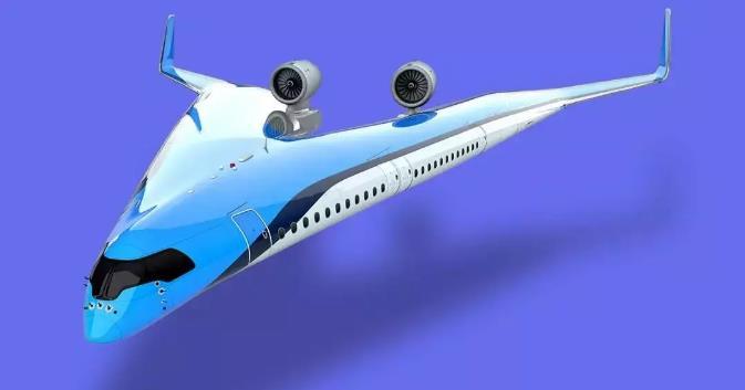 你見過劈叉的飛機嗎? 乘客都坐在機翼上