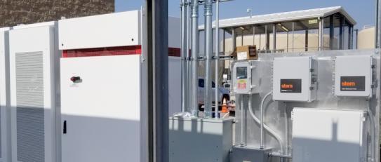 Stem公司的电池储能系统在热浪期间提供电力服务