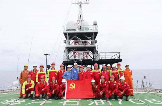 國產自主天然氣水合物鉆探和測井技術裝備海試取得重大進展