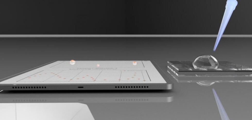 """手機觸摸屏技術可以""""化身""""生物傳感器 檢測常見的離子污染物"""