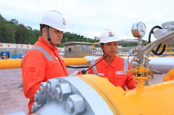 """我國首個環島天然氣管網正式投運 """"氣化海南""""建設邁入新階段"""
