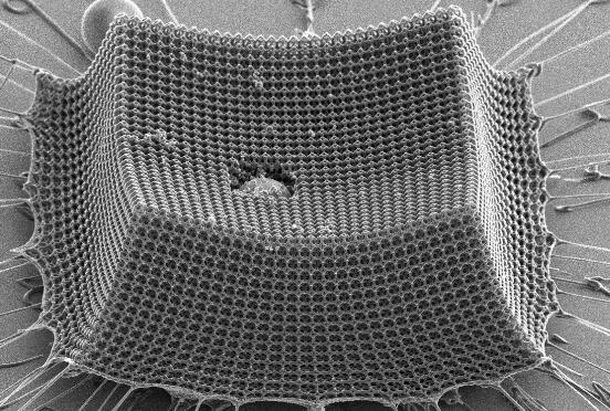 比頭發還細的納米級工程材料,硬度堪比鋼鐵