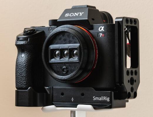 这款3D打印的镜头,让数码相机能够拍摄3D照片