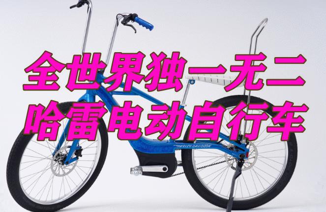 专注搞摩托20年的哈雷,竟然造起自行车了