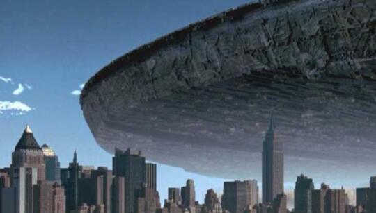 一公里大的航天器,太空城市要成真?科幻电影中的巨型飞行器要来了?