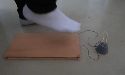 """行走的""""发电机""""!研究人员将木地板变成纳米发电机"""