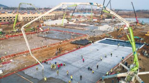 世上最長的臂架泵車落戶中國,三天蓋一層樓!深挖背后技術