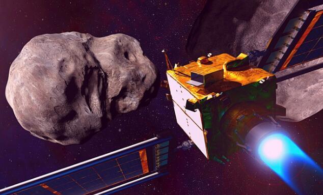 NASA欲用航天器撞击小行星,让人类免于种族灭绝