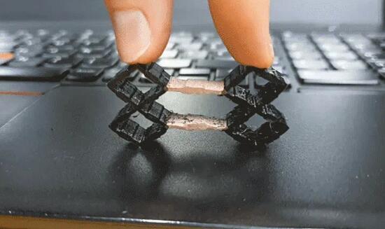 """可以感知的3D打印!超材料让 3D 打印的物体变得有""""感觉"""""""