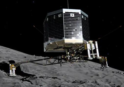 "NASA在彗星上發現""棉花糖""狀冰層,適于探測器安全著陸"