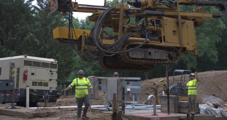 如何改進泵站建立穩定基礎并防止基礎上升?UMA有辦法!