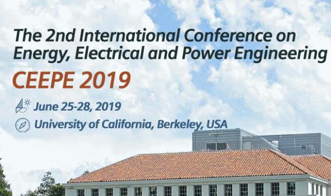 2019第二届能源,电力和动力工程国际会议
