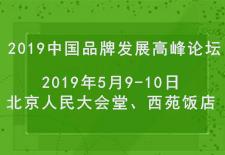 2019中国品牌发展高峰论坛