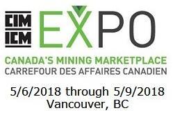 2018年第35届加拿大国际矿业展暨加拿大国际矿业年会