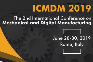第二届机械与数字制造会议