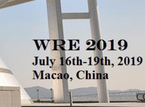 第五届水资源与环境国际会议2019澳门