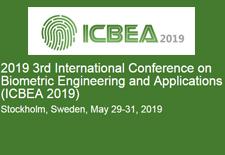 2019第三届生物识别与应用国际会议