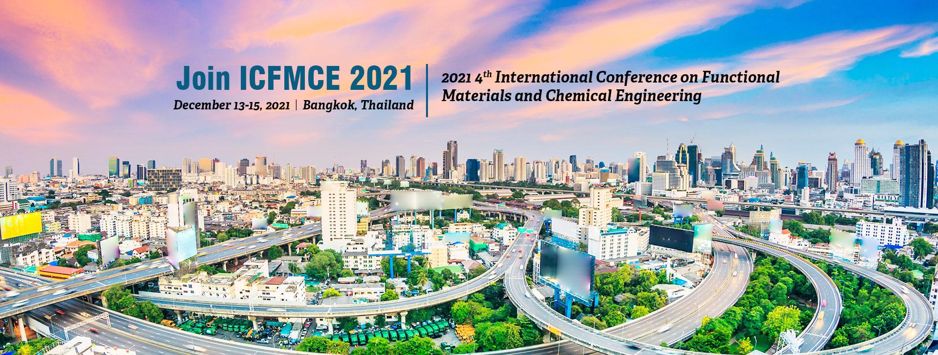 2021年第五届功能材料与化学工程国际会议(ICFMCE 2021)EI检索
