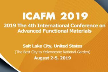 2019年第四届先进功能材料国际会议