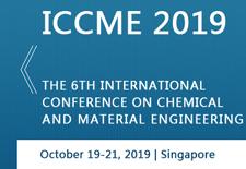2019年第六届化学与材料工程国际会议