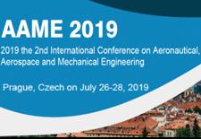 2019年第二届航空,航天和机械工程国际会议
